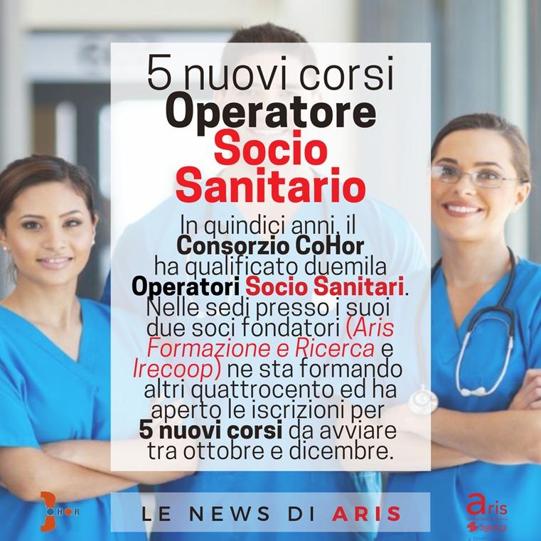 Consorzio Co.Hor: a breve 5 nuovi Corsi di Qualifica per Operatore Socio Sanitario.
